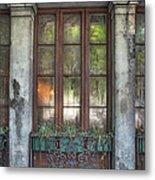 Window In The Quarter Metal Print