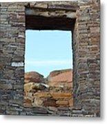 Window In Time Metal Print