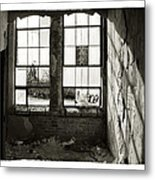 Window Light Metal Print by Tanya Jacobson-Smith