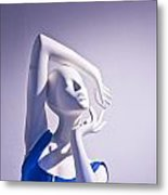 Window Mannequins 3 Metal Print