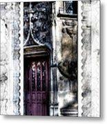 Window Of Renaissance Paris France Metal Print