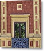 Window Of Seville Metal Print