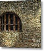 Window On The Alamo Metal Print