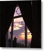 Window On The Sunrise Metal Print by Don F  Bradford