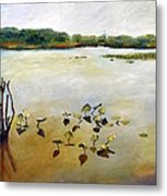 Window On The Waterfront Metal Print