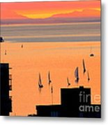 Window On Vancouver Metal Print