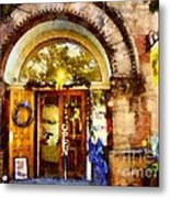 Window Shopping  Metal Print by Janine Riley