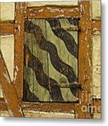Window Shutter 2 Metal Print