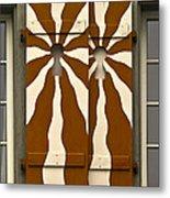 Window Shutter 3 Metal Print