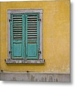 Window Shutter Metal Print