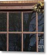Window Swag In Williamsburg Metal Print