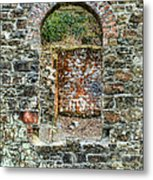 Window To A Bygone Heritage Metal Print