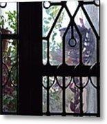 Window View 2 Metal Print