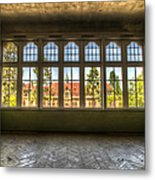 Window With Beauty Metal Print