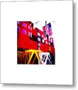 Window_10.09.12 Metal Print