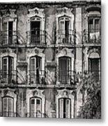 Windows And Balconies 1 Metal Print