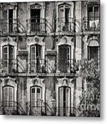 Windows And Balconies 2 Metal Print