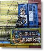 Windows And Doors Buenos Aires 17 Metal Print