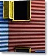 Windows And Doors Buenos Aires 16 Metal Print