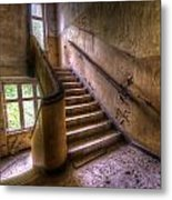 Windows And Stairs Metal Print
