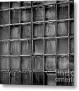 Windows Black And White 2 Metal Print