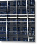 Windows In Windows Metal Print