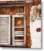 Windows Of Alcantara Brazil 1 Metal Print