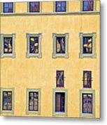 Windows Of Florence Metal Print