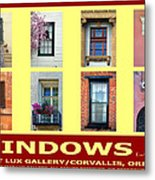 Windows Of Opportunity Metal Print