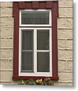 Windows Of Quebec 1 Metal Print