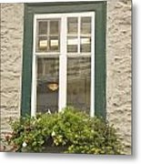 Windows Of Quebec 2 Metal Print