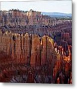 Windows Of Rock Metal Print