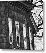 Windows Of The Past Metal Print