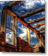 Windows To The Past Metal Print