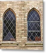 Windows Within The Catholic Walls Metal Print