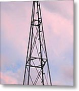Windpump Metal Print