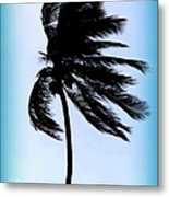 Winds Of Blue Metal Print