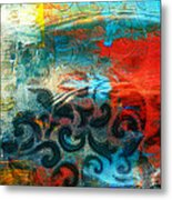 Winds Of Change - Abstract Art Metal Print
