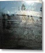 Windshield Work Metal Print
