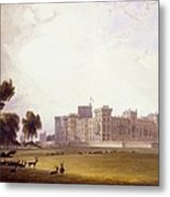 Windsor Castle From The South End Metal Print