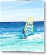 Windsurf Metal Print