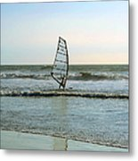 Windsurfing Metal Print by Ben and Raisa Gertsberg