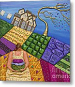 Windswept Whimsy Metal Print by Anne Klar