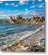 Windy Afternoon At Mono Lake Metal Print