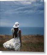 Windy Day Metal Print