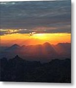 Windy Point Sunset 2 Metal Print