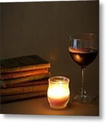Wine And Wonder B Metal Print