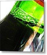 Wine Bottle Metal Print by Sarah Loft
