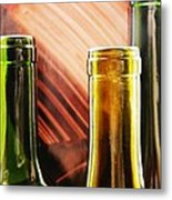 Wine Bottles 2 Metal Print