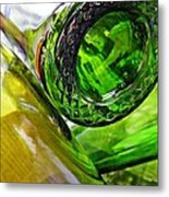 Wine Bottles 6 Metal Print by Sarah Loft